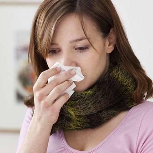сильный кашель и высокая температура