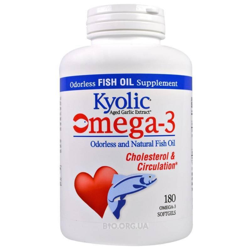 Омега 3 при высоком холестерине