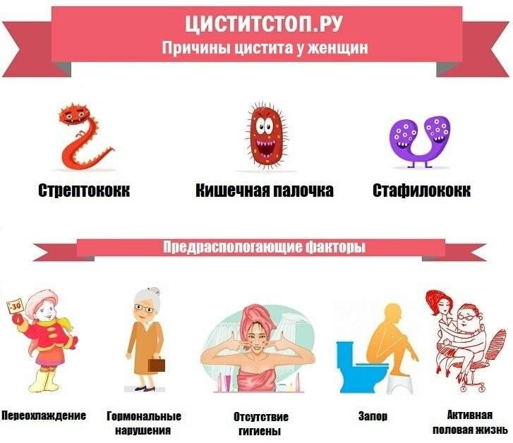 Лекарства от цистита при беременности