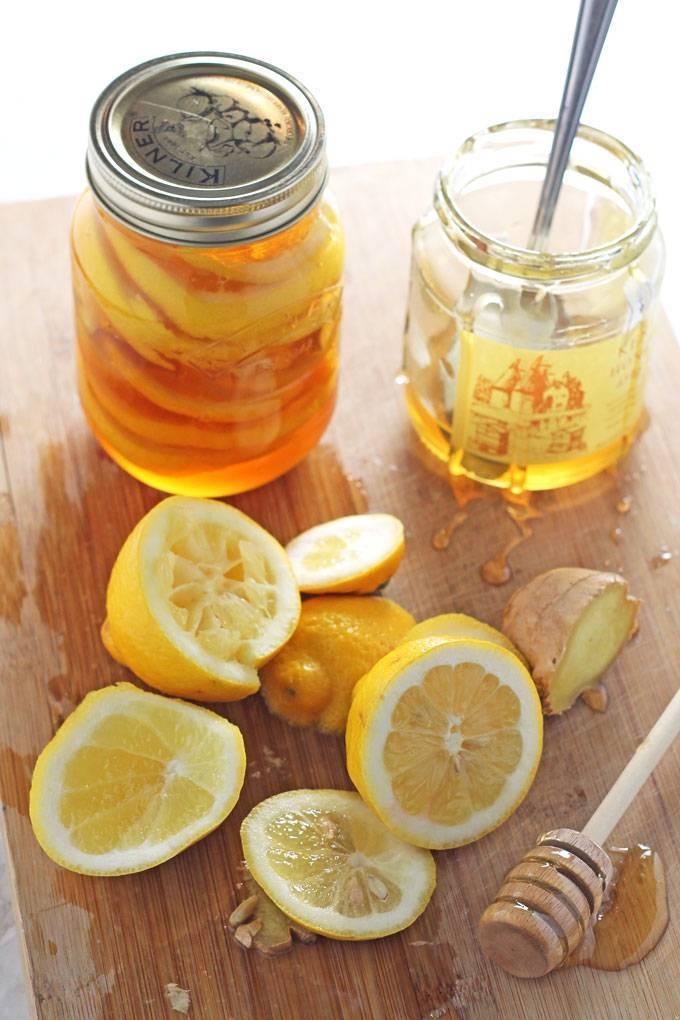 От кашля поможет лимон и мед