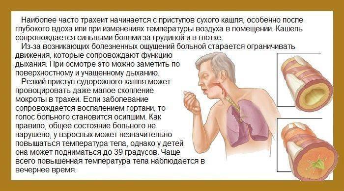 долгий сухой кашель