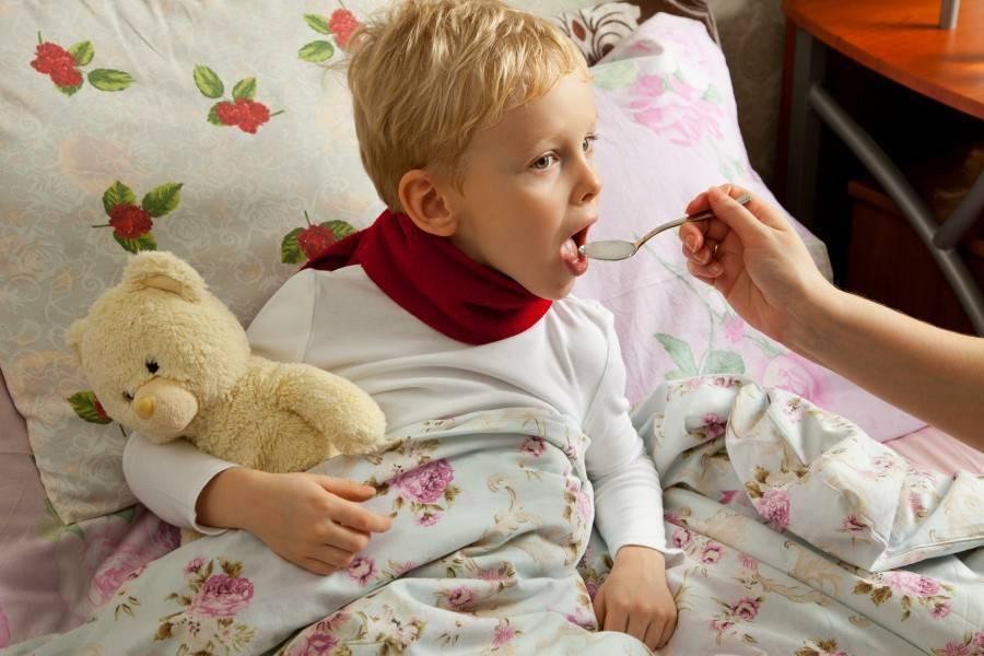 кашель без температуры у детей