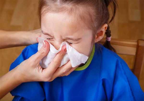 водянистые выделения из носа