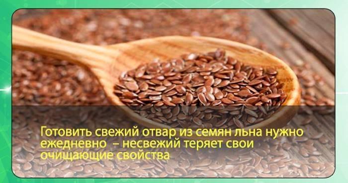 холестерин семя льна как принимать