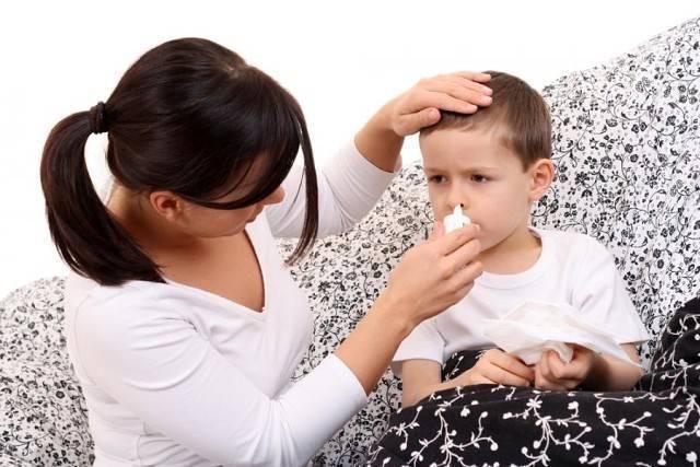 насморк у грудного ребенка комаровский