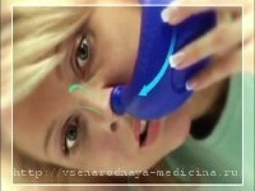 Как убрать заложенность носа в домашних условиях