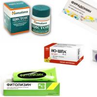 Лекарства назначаемые от цистита