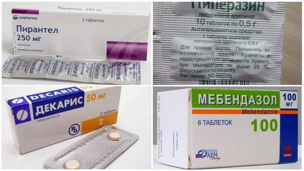 Какие таблетки лучше и эффективнее для человека от глистов