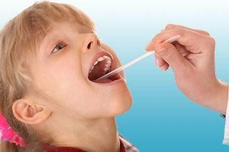 Стоматит в горле