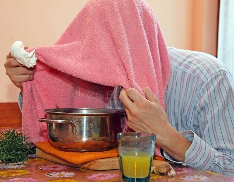 Ингаляция картошкой (отваром) при кашле, простуде и насморке