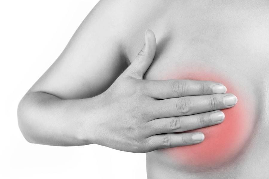 ноющая боль в молочной железе