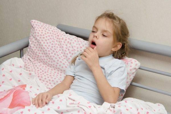 приступы кашля у ребенка