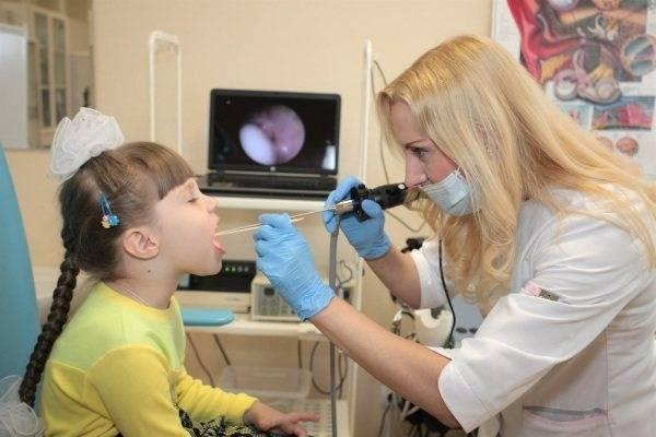 лазерная терапия аденоидов у детей
