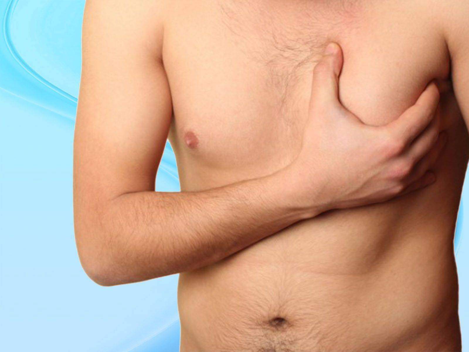 Мастопатия у мужчин: симптомы и лечение молочной железы