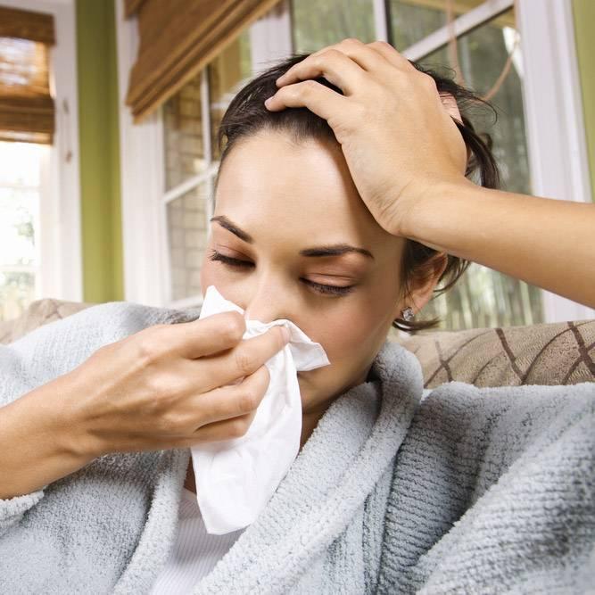 головная боль заложенность носа