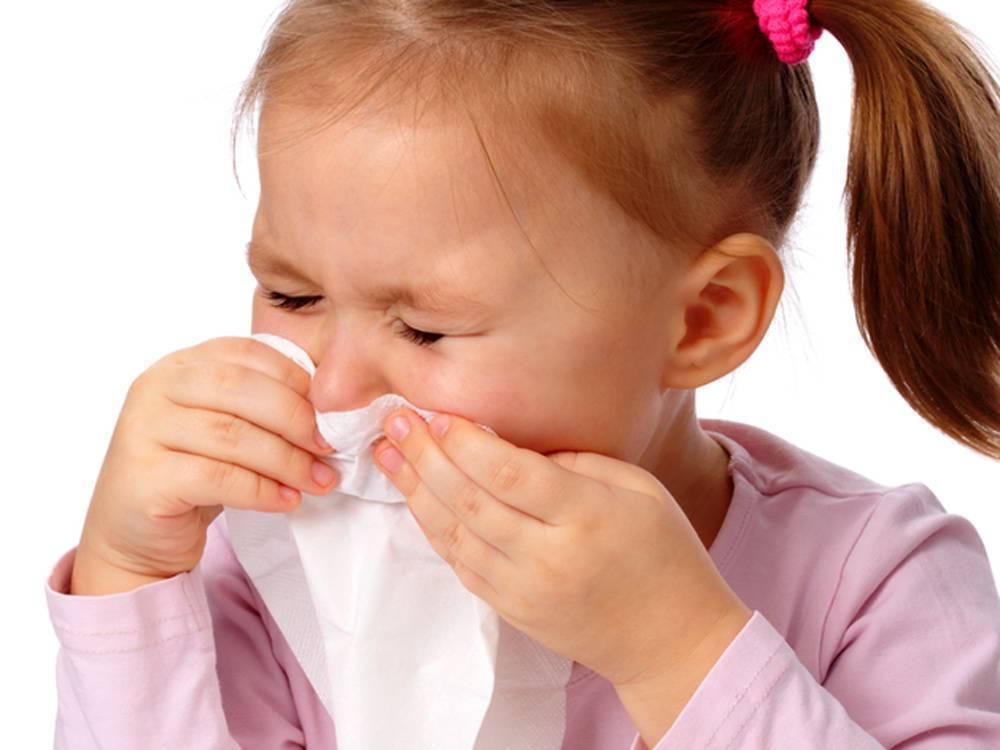 ребенок чихает и сопли