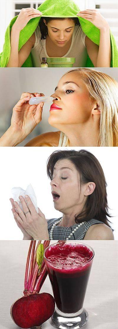 Полоскание горла свекольным соком при ангине