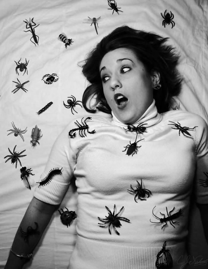 фобия насекомых