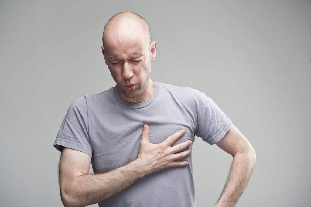 боль в груди при кашле лечение