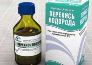 Применение перекиси водорода при геморрое по методике неумывакина