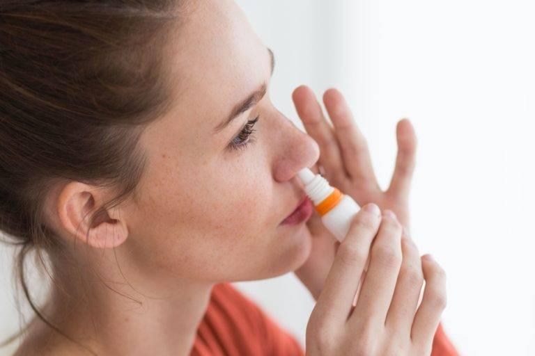 как снять заложенность носа без лекарств