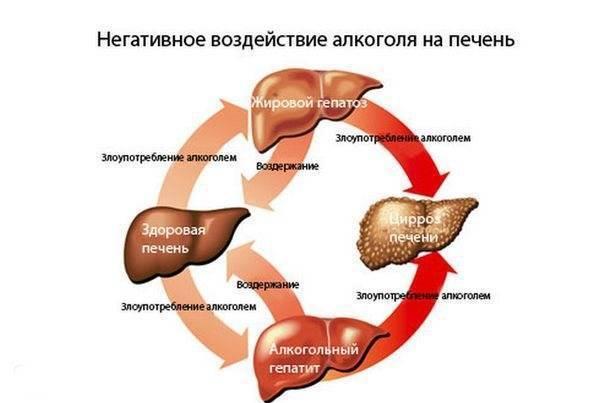 нарушение функции печени симптомы