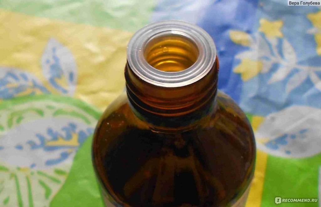 Компрессы с камфорным маслом при кашле