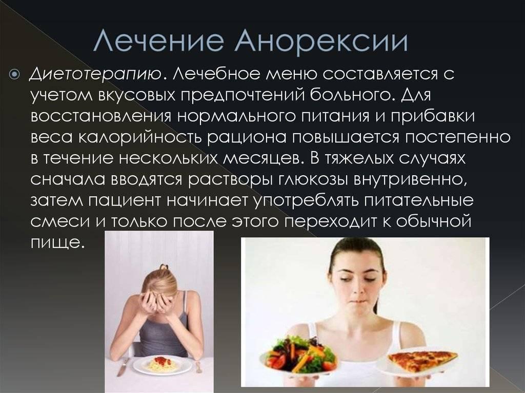 анорексия как поправится
