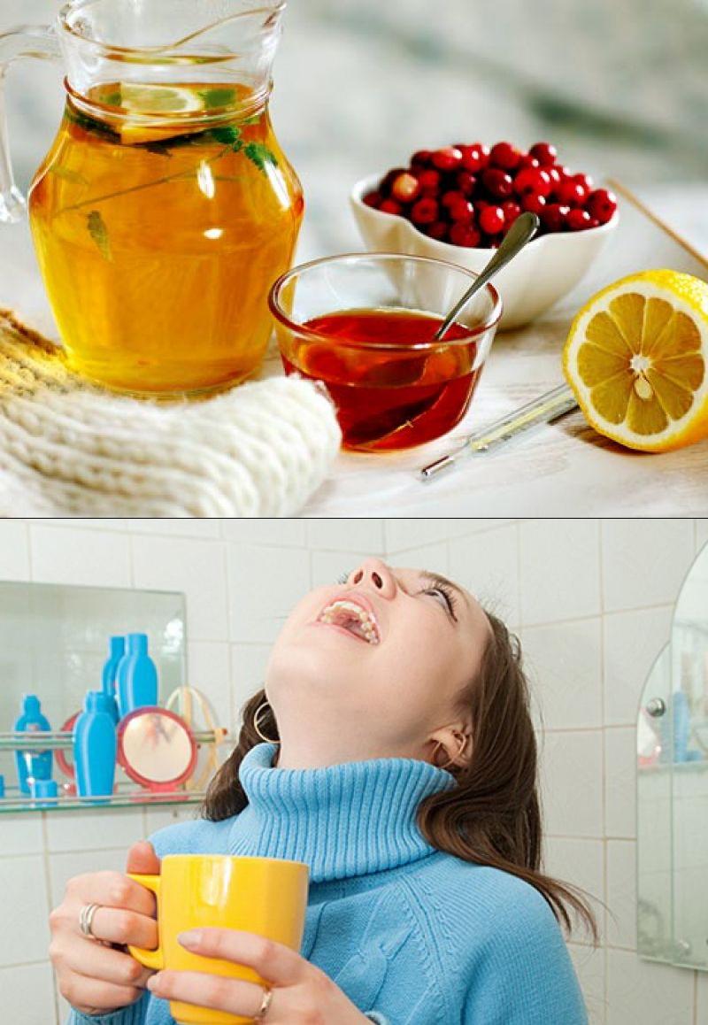Лечение горла народными средствами в домашних условиях