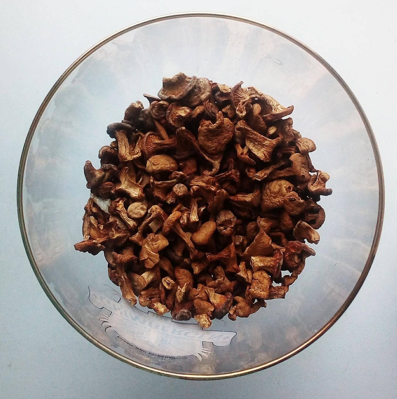 лисички от глистов рецепт