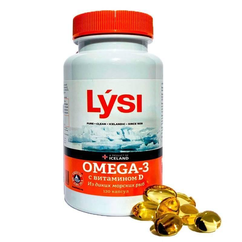 Омега 3 для понижения холестерина