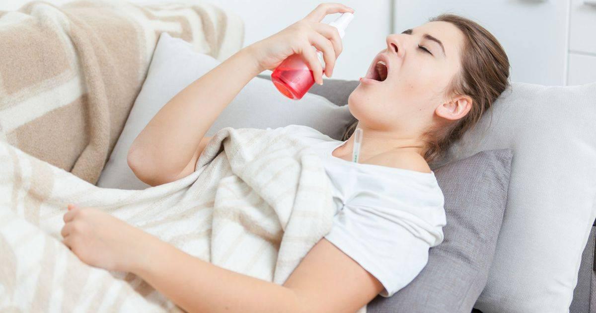 чем полоскать горло беременным при простуде