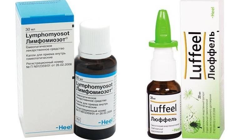 Гомеопатические капли при насморке и заложенности носа
