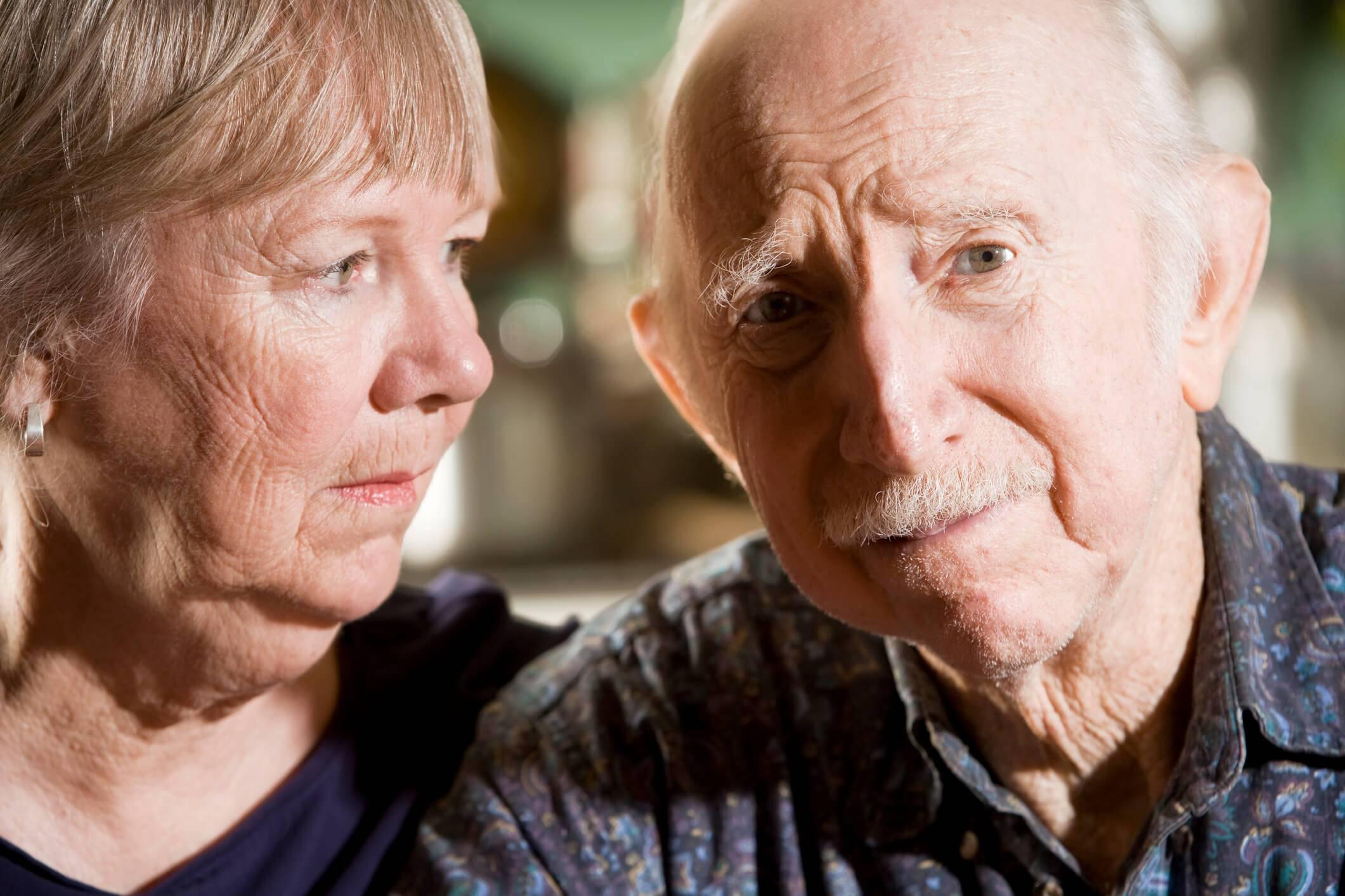 Синильный синдром у стариков