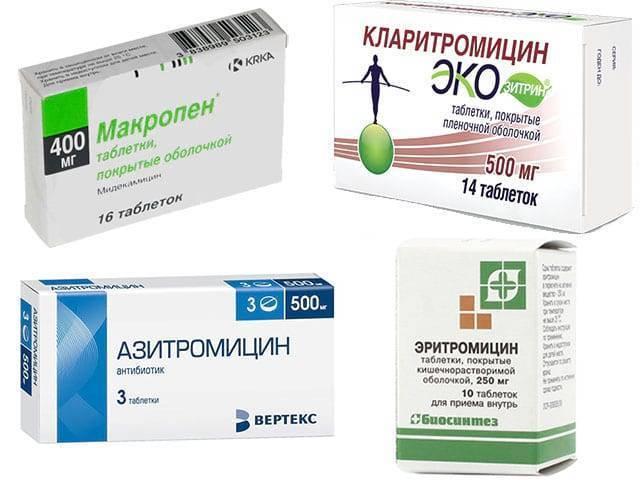 антибиотики при синуситах