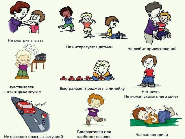 аутизм у детей симптомы 2 года