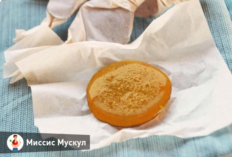 как сделать лепешку от кашля из меда