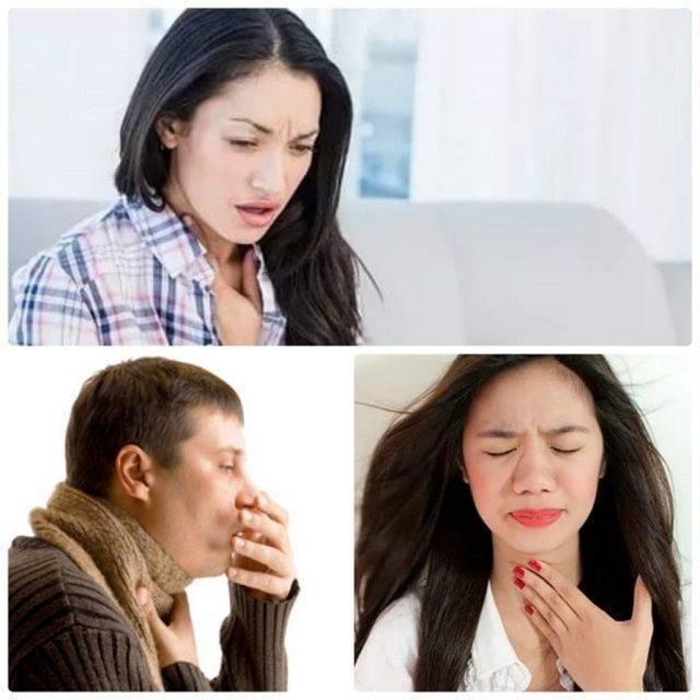 Зуд в горле кашель в ночное время