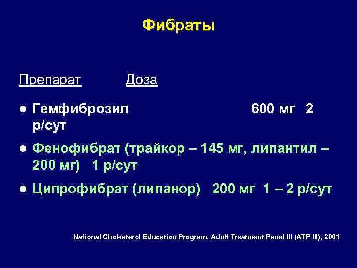 Фибраты: что это такое, список препаратов, инструкция по применению