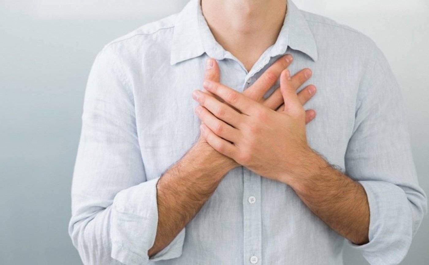 Как поступить при появлении боли в груди