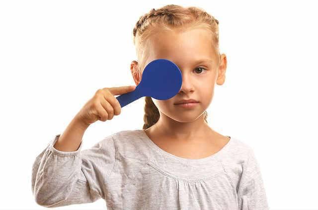 амблиопия слабой степени у детей