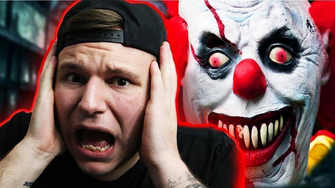 Клоурофобия — боязнь клоунов