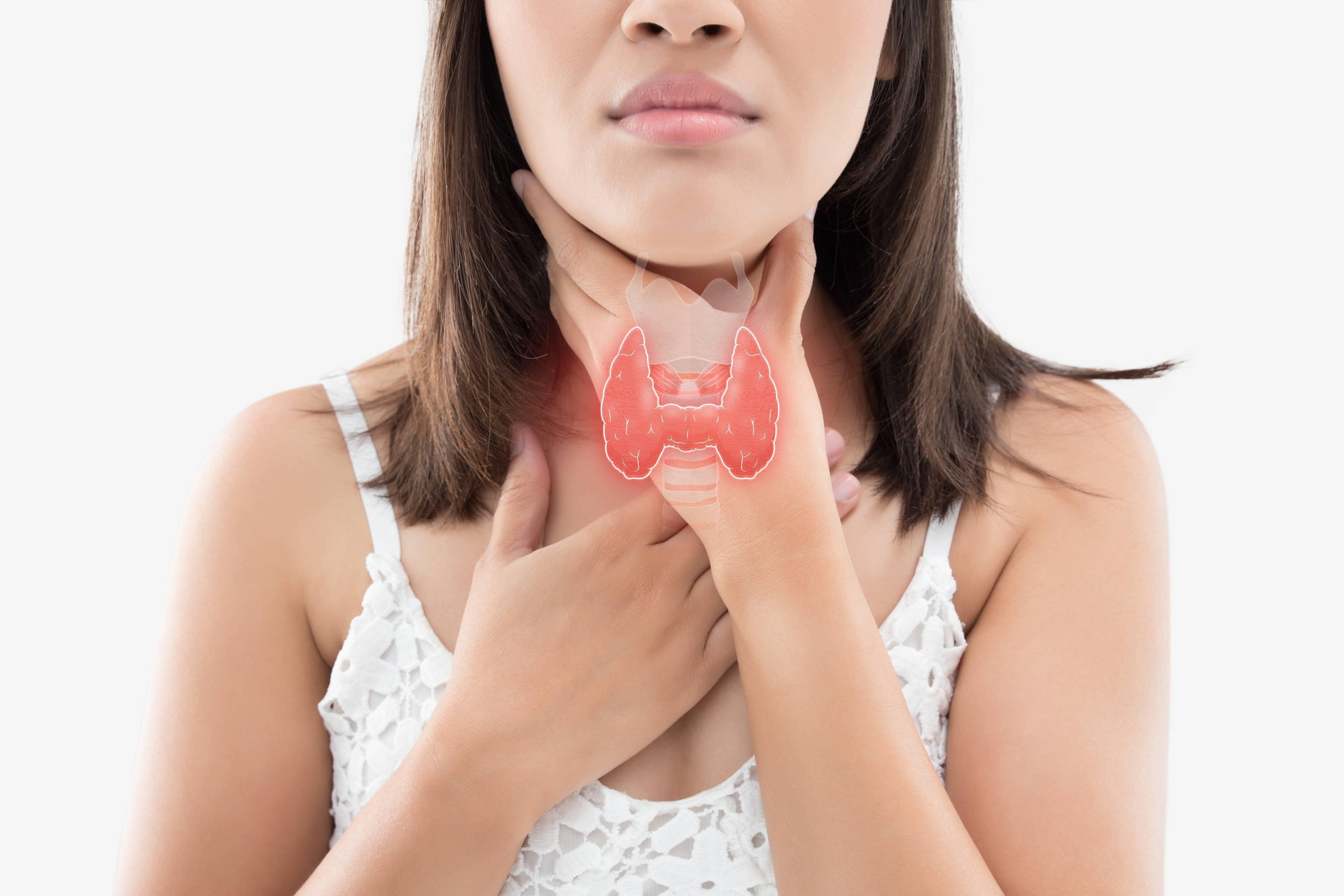 Щитовидка – виновник ощущения удушья в горле