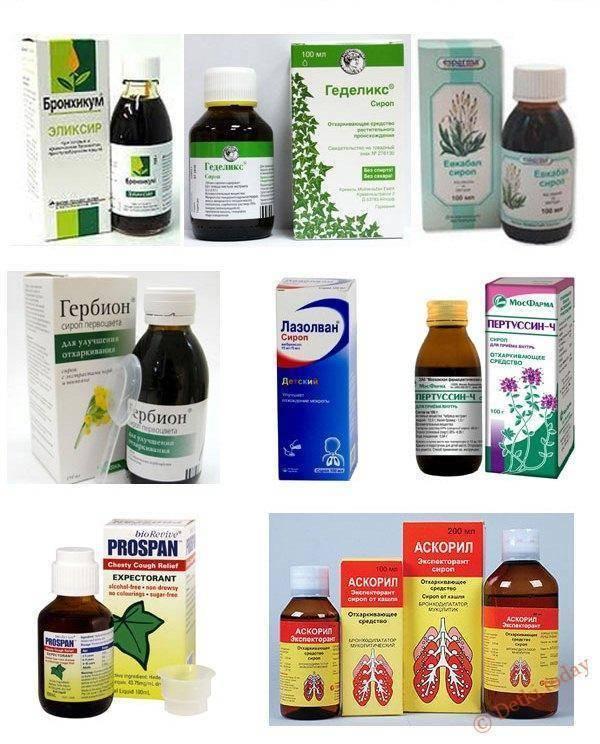 Лучшие отхаркивающие средства при сухом кашле для взрослых и детей