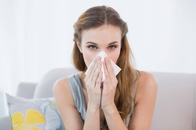 заложен нос трудно дышать