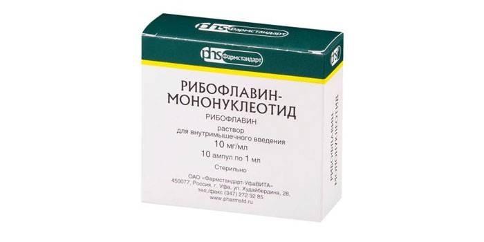 Капли для глаз рибофлавин: инструкция по применению