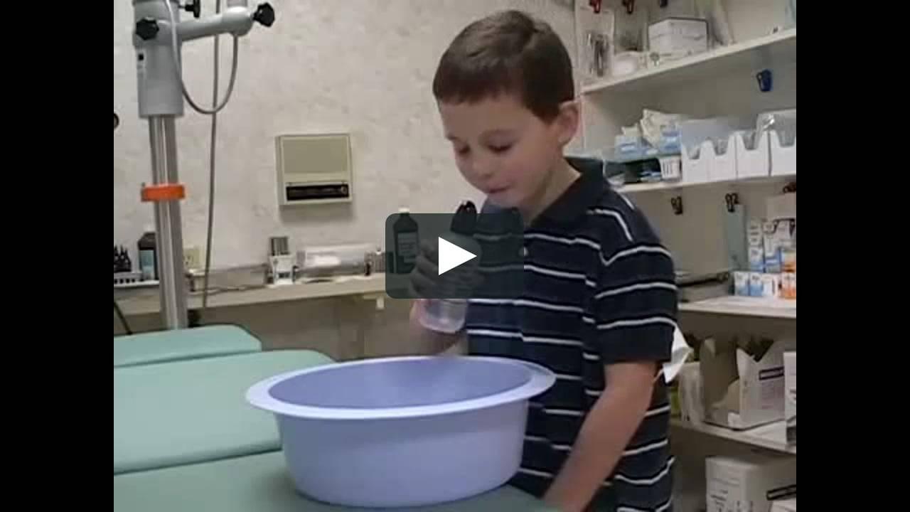 Физраствор от насморка у детей комаровский