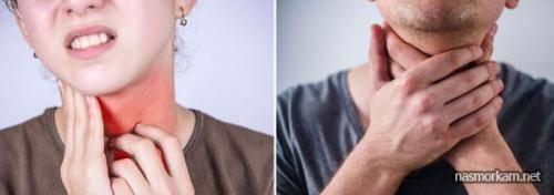 Жжение в горле: почему возникает, признаки и заболевания,  как лечить