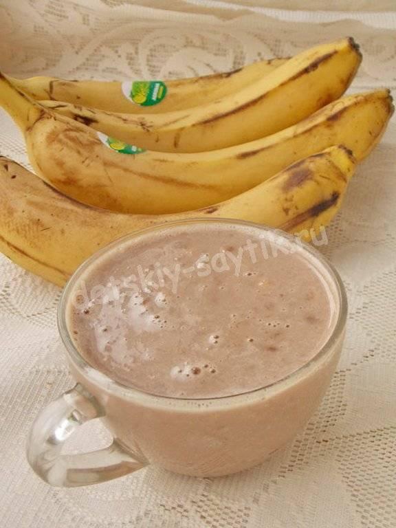 Молоко с бананом от кашля: рецепты, польза, правила применения