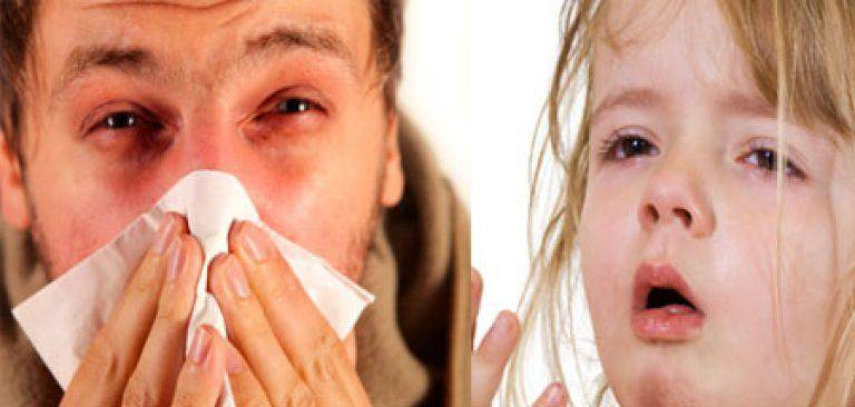 Почему из глаз текут слезы при насморке